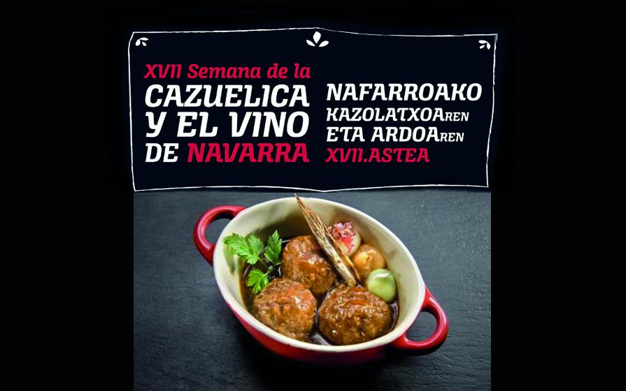 XVII Semana de la Cazuelica y el Vino de Navarra