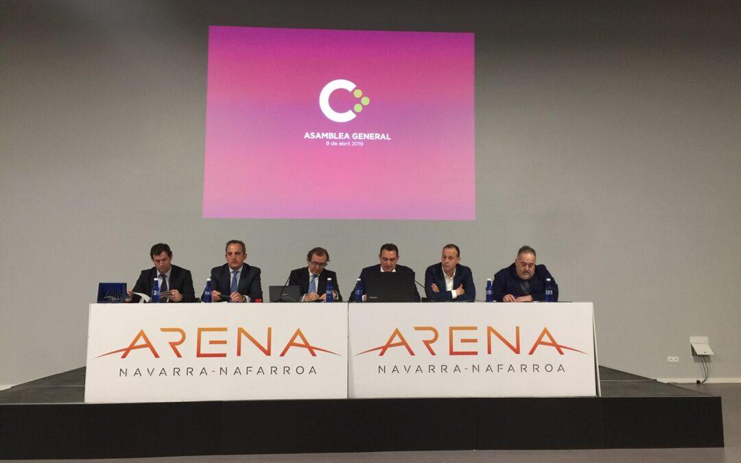 Asamblea General en el Navarra Arena
